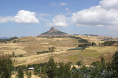 Paesaggio, Gondar, Etiopia Immagini Stock Libere da Diritti