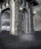 Paesaggio gotico 37 Fotografia Stock