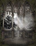 Paesaggio gotico 66 Immagine Stock Libera da Diritti