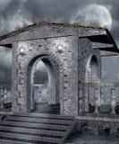 Paesaggio gotico Fotografie Stock