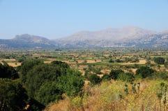 Paesaggio greco Fotografie Stock