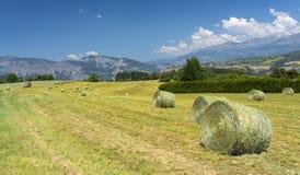 Paesaggio in Haute Provence Immagini Stock