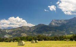 Paesaggio in Haute Provence Immagini Stock Libere da Diritti