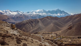 Paesaggio himalayano Fotografia Stock
