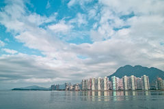 Paesaggio in Hong Kong Immagini Stock