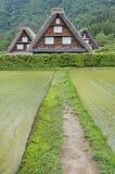 Paesaggio idilliaco del Giappone Fotografie Stock Libere da Diritti