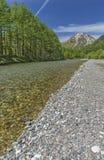 Paesaggio idilliaco del Giappone Fotografia Stock