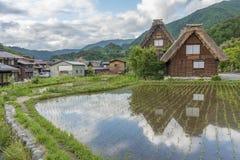 Paesaggio idilliaco del Giappone Fotografie Stock