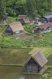 Paesaggio idilliaco del Giappone Immagini Stock