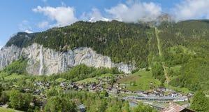 Paesaggio idilliaco in Svizzera Immagine Stock Libera da Diritti