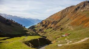 Paesaggio III delle alpi di Bernese Fotografia Stock