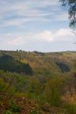 Paesaggio incredibile durante l'escursione delle montagne nel Belgio Immagine Stock Libera da Diritti