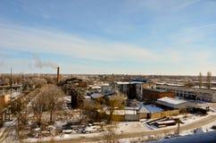 Paesaggio industriale 1 Fotografie Stock Libere da Diritti