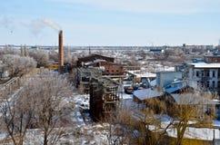 Paesaggio industriale 2 Immagine Stock Libera da Diritti