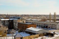 Paesaggio industriale 3 Fotografie Stock