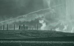 Paesaggio industriale Fotografia Stock Libera da Diritti
