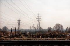 Paesaggio industriale Fotografie Stock