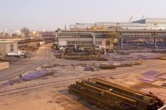 Paesaggio industriale Fotografia Stock