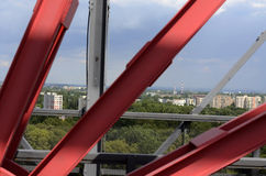 Paesaggio industriale, Katowice Fotografia Stock
