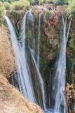 Paesaggio intorno al EL-Ouidane del recipiente della diga Fotografia Stock