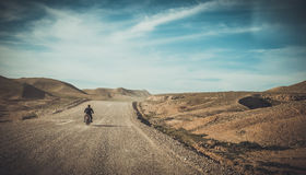 Paesaggio iracheno nella stagione primaverile immagini stock