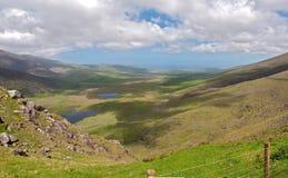 Paesaggio irlandese scenico della natura Fotografia Stock