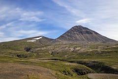 Paesaggio irregolare della montagna Fotografia Stock Libera da Diritti