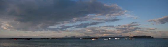 Paesaggio in ischi, Italia Fotografie Stock Libere da Diritti
