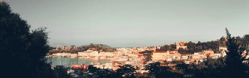Paesaggio in ischi, Italia Fotografie Stock