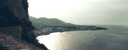Paesaggio in ischi, Italia Fotografia Stock