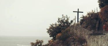 Paesaggio in ischi, Italia Fotografia Stock Libera da Diritti