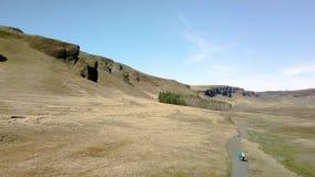 Paesaggio in Islanda video d archivio