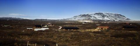 Paesaggio islandese Fotografie Stock Libere da Diritti