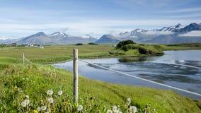 Paesaggio islandese Fotografia Stock