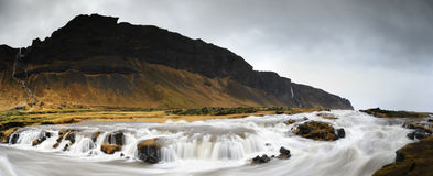 Paesaggio islandese Fotografie Stock