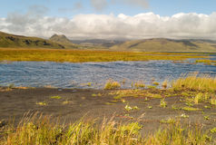 Paesaggio islandese Fotografia Stock Libera da Diritti