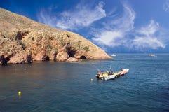 Paesaggio - isola di Berlengas Immagine Stock Libera da Diritti