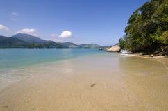 Paesaggio in isola di calvo Immagini Stock Libere da Diritti