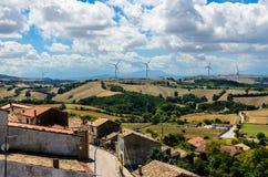 Paesaggio italiano Fotografia Stock