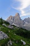 Paesaggio italiano delle dolomia Fotografia Stock