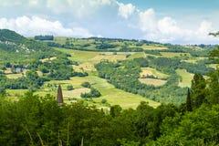 Paesaggio italiano: Piacenza fotografie stock libere da diritti
