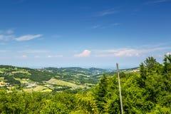 Paesaggio italiano: Piacenza fotografia stock libera da diritti