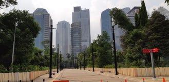 Paesaggio Jakarta fotografia stock