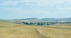 paesaggio l'azerbaijan Non lontano da Ismayilli Fotografie Stock Libere da Diritti