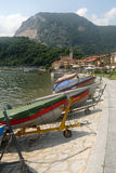 Paesaggio Lago Maggiore Fotografia Stock Libera da Diritti