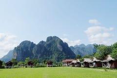 Paesaggio Laos Fotografie Stock Libere da Diritti