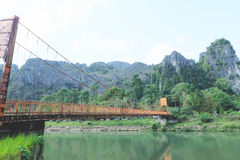 Paesaggio Laos Immagine Stock Libera da Diritti