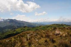 Paesaggio. Le Ande fotografie stock libere da diritti