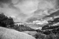 Paesaggio Leuchtenburg fotografia stock libera da diritti