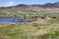 Paesaggio litoraneo in Irlanda fotografia stock